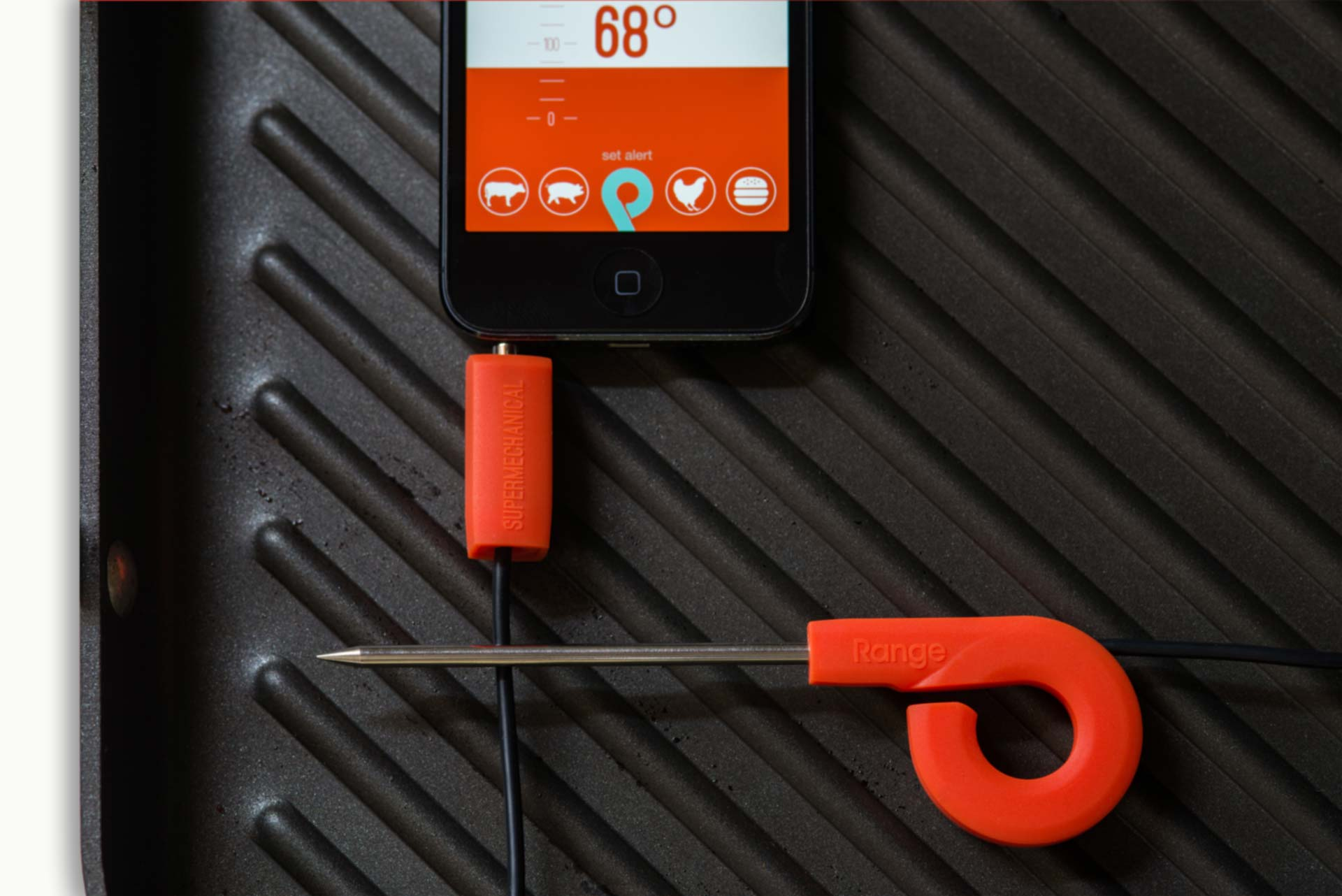 Range. Smart thermometer, smarter cook.